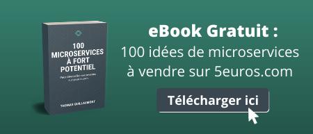 100 idées de microservices à vendre pour gagner de l'argent